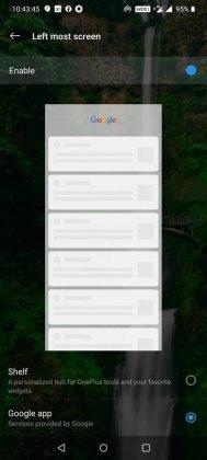 oneplus launcher google feed xda