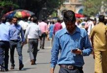 mercado de smartphones da índia