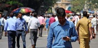 mercato india smartphone