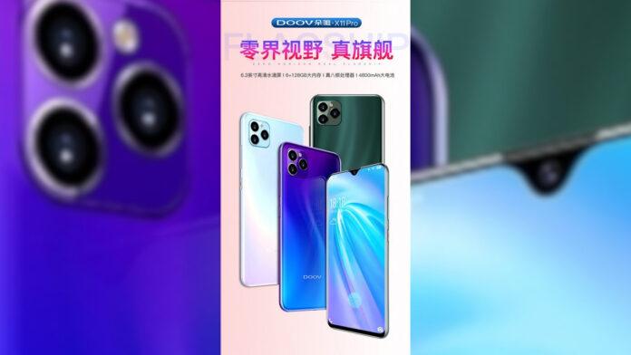 DOOV X11 Pro iphone 11 pro xiaomi mi cc9