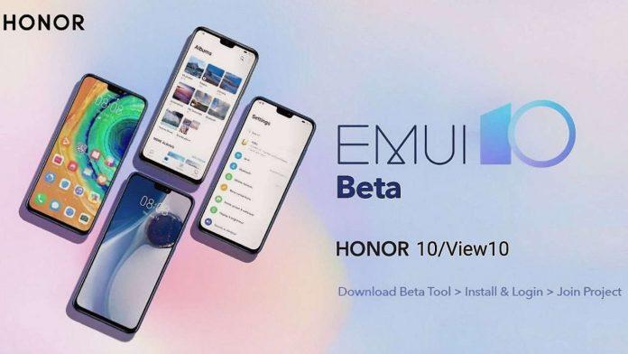 honor 10 honor zobacz 10 emui 10 beta