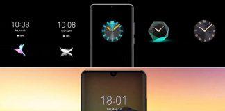 Huawei immer auf dem Display