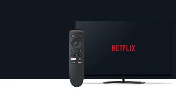 oneplus tv telecomando netflix