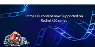 redmi k20 amazon prime vídeo hd