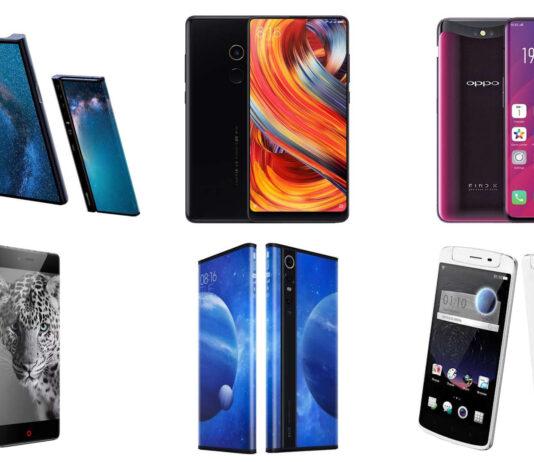 most innovative smartphones