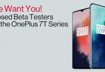 OnePlus 7T pro beta