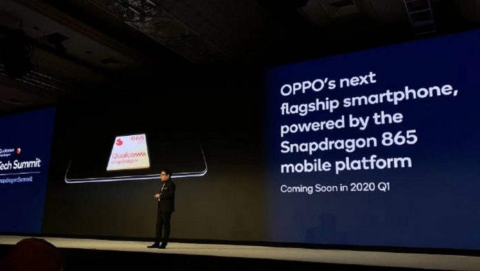 oppo snapdragon 865