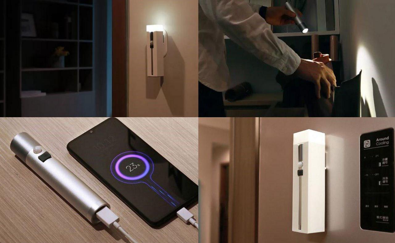 Xiaomi NEXTOOL Lampada da Parete Magnetica & Torcia – Banggood