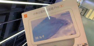 xiaomi display inteligente alto-falante pro 8