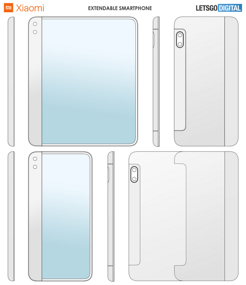 xiaomi smartphone display estensibile