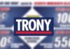 copertina volantino trony