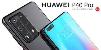 huawei p40 pro render de video