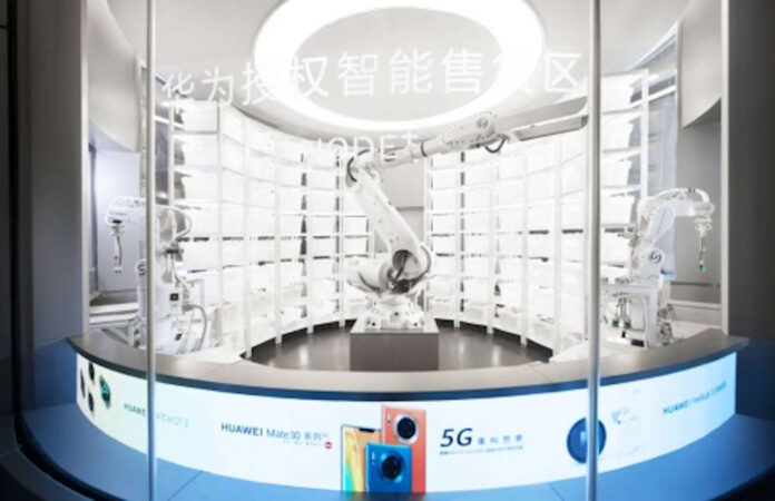 huawei store robot