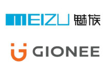 logotipo de meizu gionee