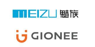 meizu gionee logo