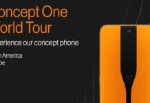 conceito oneplus uma turnê mundial