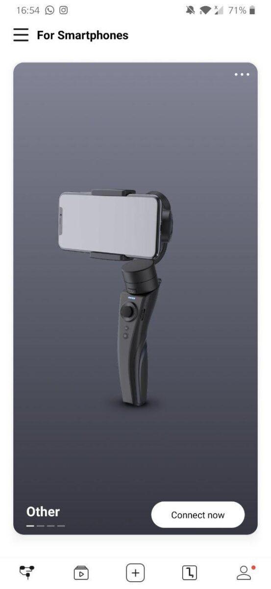 Aplicación Zhiyun Cinepeer C11