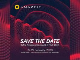 amazfit mwc 2020