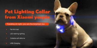 led halsband xiaomi honden