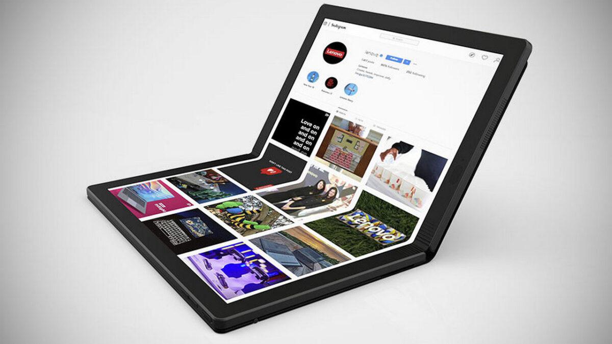 """Résultat de recherche d'images pour """"lenovo ThinkPad X1 Fold"""""""