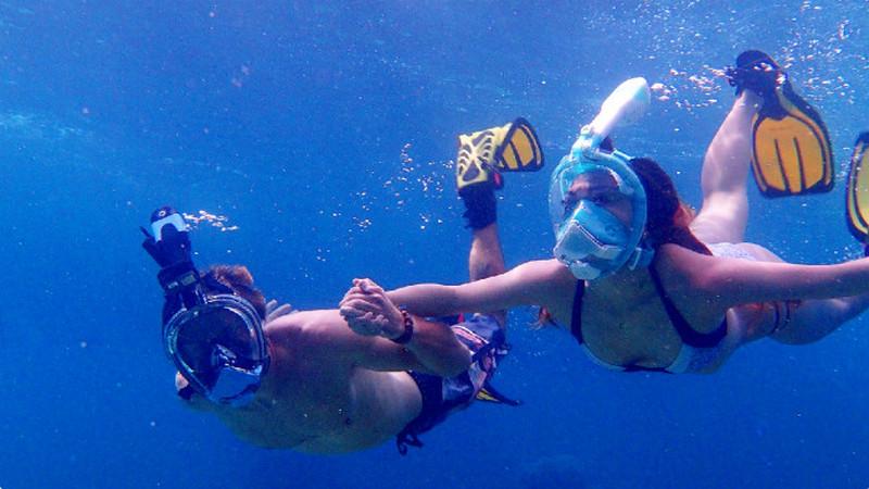 Orsen Airfresh maschera snorkeling