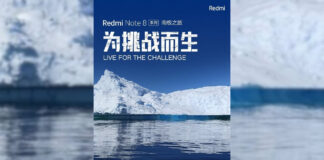 Redmi Note 8 Antarktyda