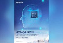 honra 9x pro