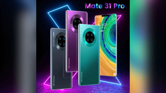 Huawei Mate 31 Pro Clone