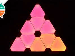 Panele świetlne Nanoleaf