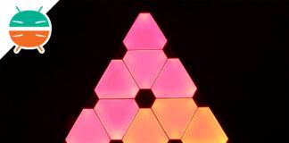 Painéis de luz Nanoleaf