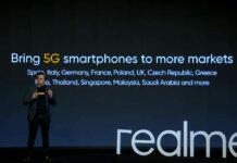 Realme nuevos teléfonos inteligentes