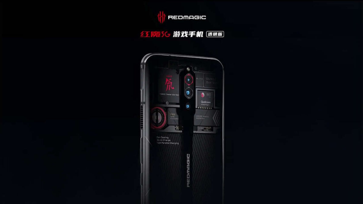 red magic 4 5g transparent edition