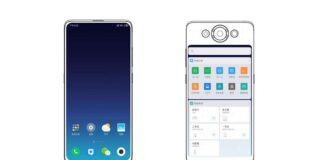 xiaomi patent twee beeldschermen
