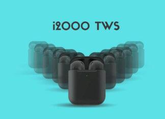 Наушники tws i2000 клонируют airpods