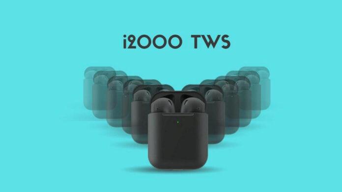 tws i2000 Kopfhörer klonen Airpods