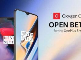 oneplus 6 oneplus 6t oxigeno beta aberto