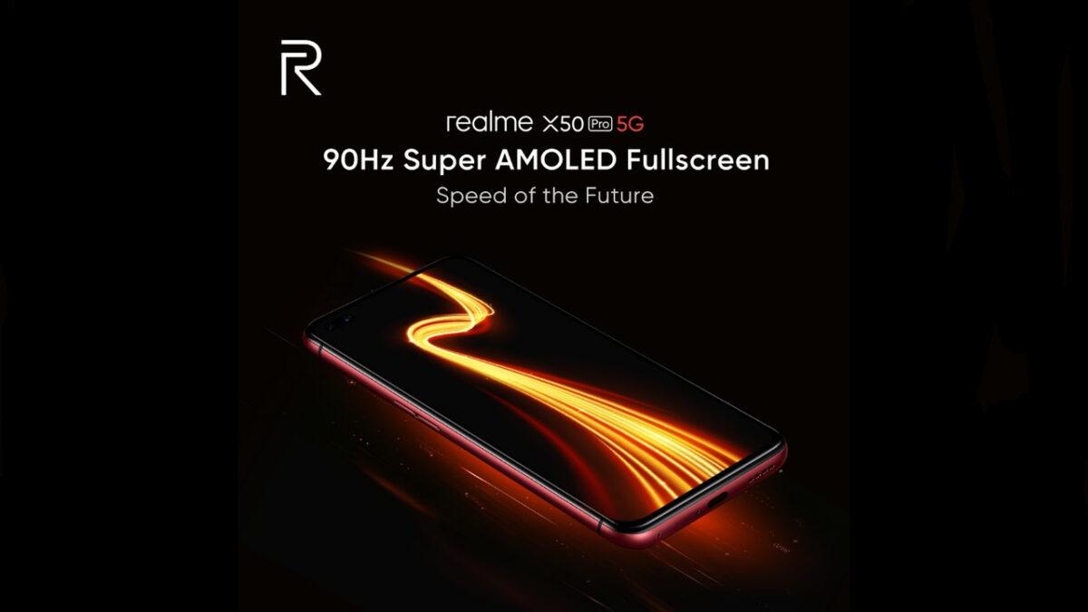 Realme X50 الموالية 5G