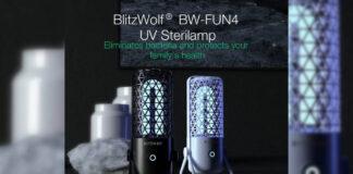 Lâmpada germicida UV BlitzWolf BW-FUN4