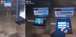 elevador de coronavírus da china