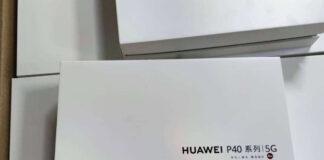 huawei p40 pro confezione