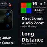 huawei p40 pro + câmera