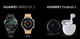 huawei watch gt 2 huawei freebuds 3