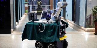 robô de coronavírus da china