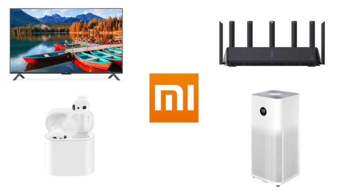 xiaomi mi tv 4s xiaomi aiot router ax3600 air purifier 3h mi true wireless earphones 2