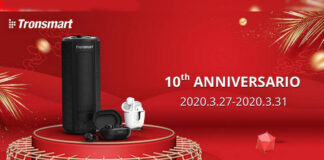 compleanno aliexpress tronsmart