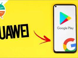 как установить гугл хуавей