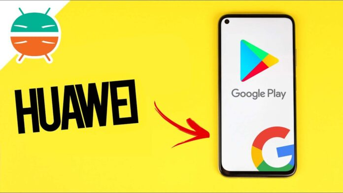come installare google huawei