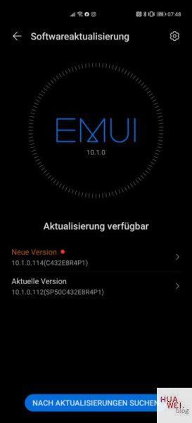 huawei p40 pro update
