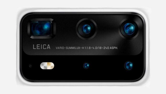 câmera huawei p40 pro