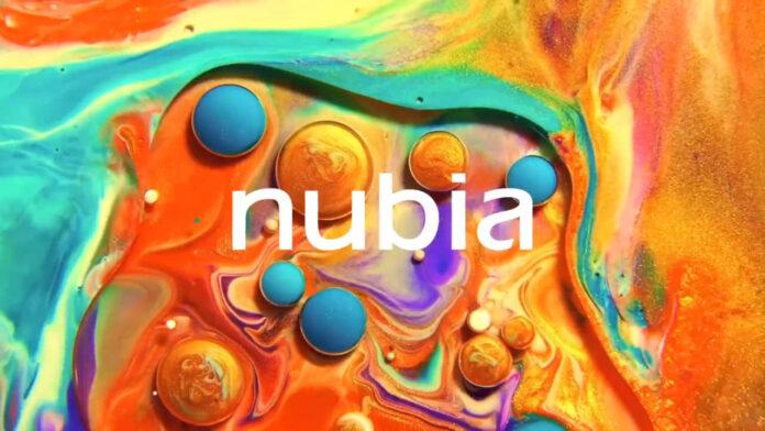 logotipo nubia